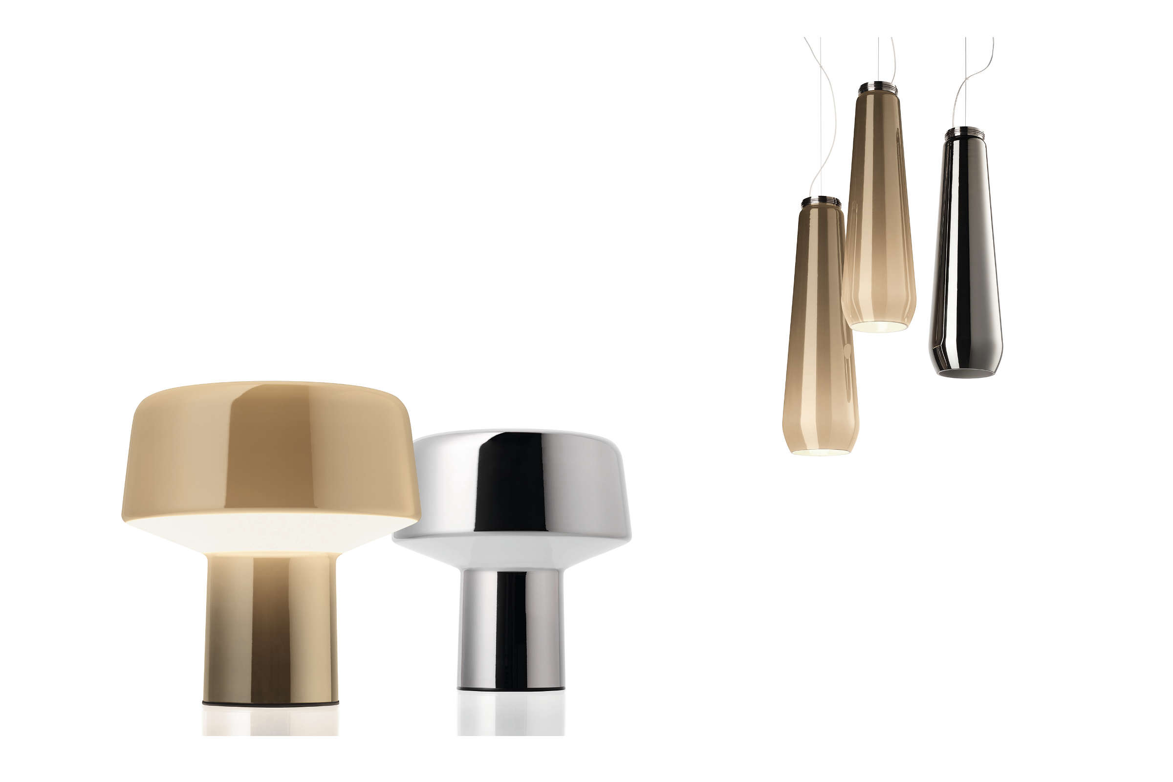 Diesel living with foscarini glass drop