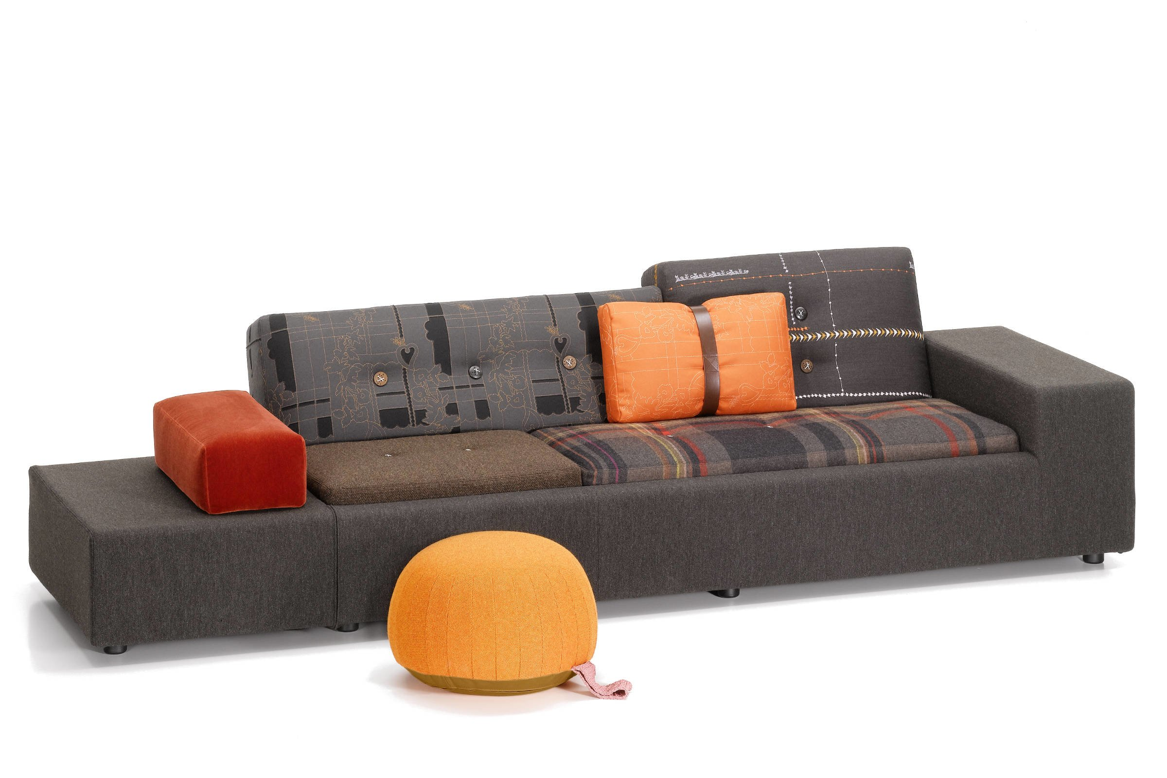 vitra polder sofa de projectinrichter. Black Bedroom Furniture Sets. Home Design Ideas