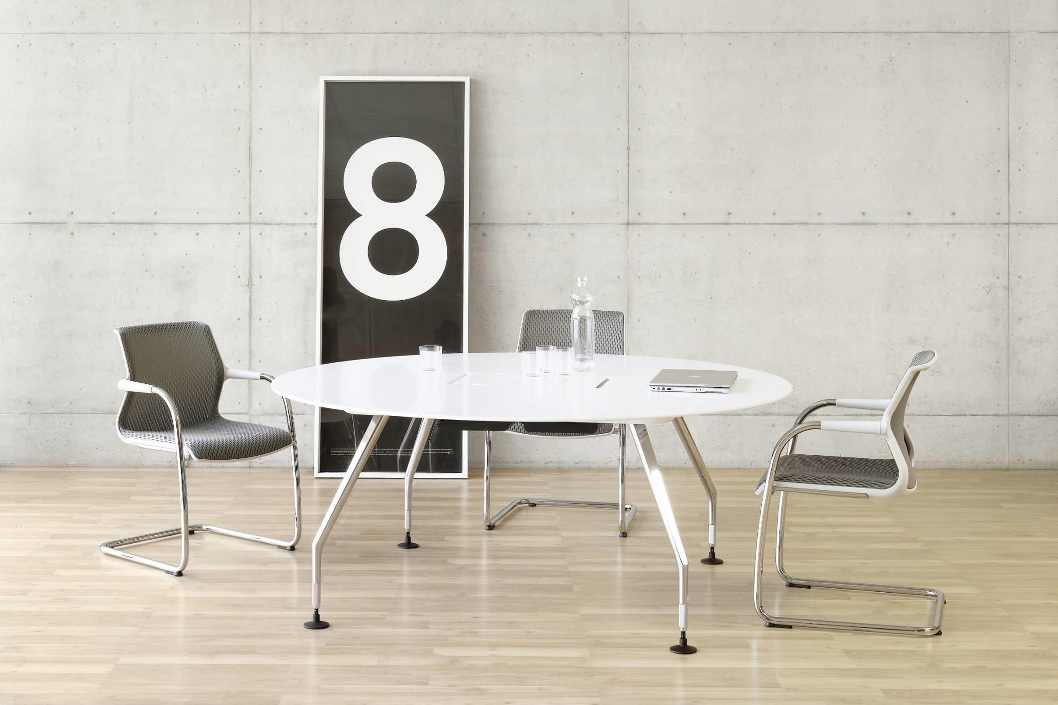 vitra ad hoc tafel de projectinrichter. Black Bedroom Furniture Sets. Home Design Ideas