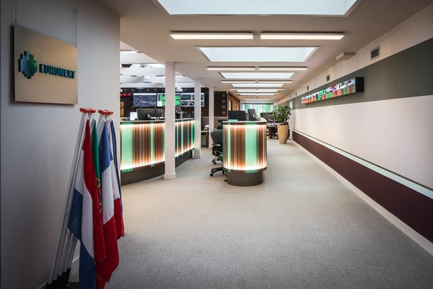 Herinrichting monumentaal pand Euronext te Amsterdam
