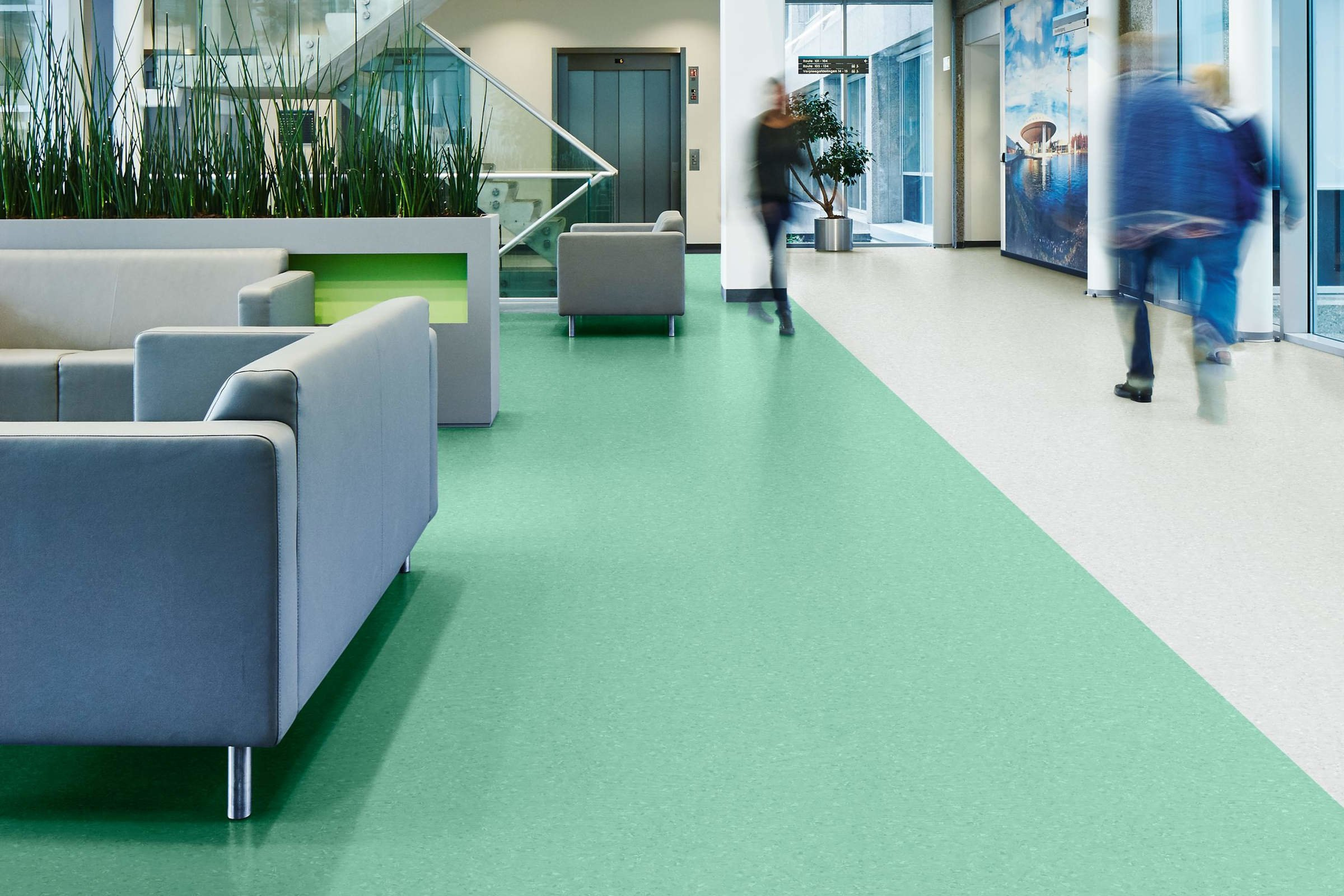 Forbo Vinyl Vloeren : Forbo sphera element vinyl vloer de projectinrichter