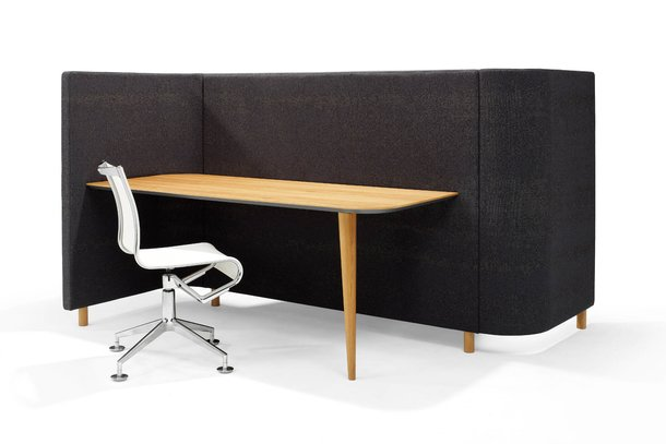 Red Stitch Sving Desk bureau