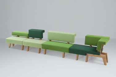 Prooff WorkSofa bank
