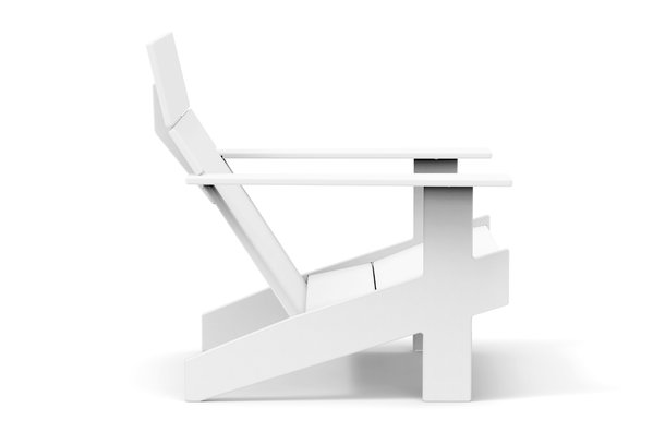 Loll Designs Lollygagger Lounge Chair white