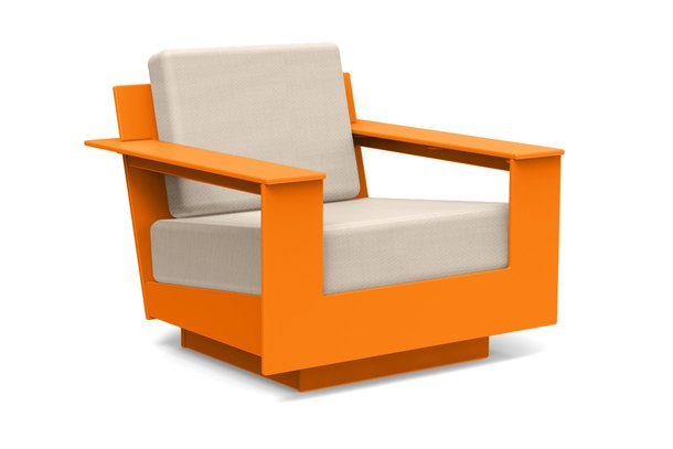 Loll Designs nisswa lounge chair orange